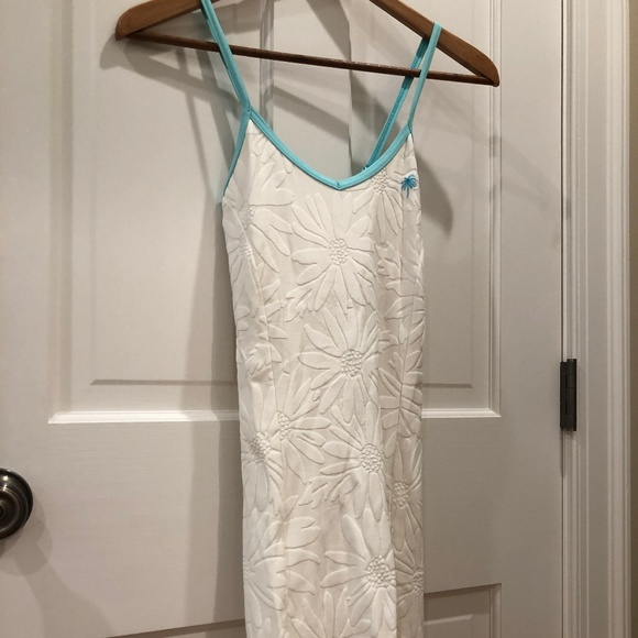 Lilly Pulitzer Dresses & Skirts - Lilly Pulitzer XS White and Blue Tennis Dress